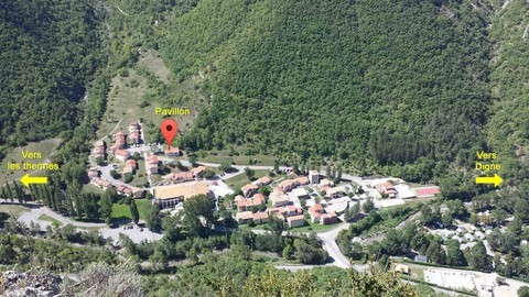 Situation dans le village Vallon des Sources